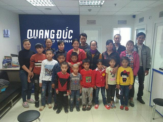 Tặng máy trợ thính cho 10 học sinh tại Hà Nội 22.3.18