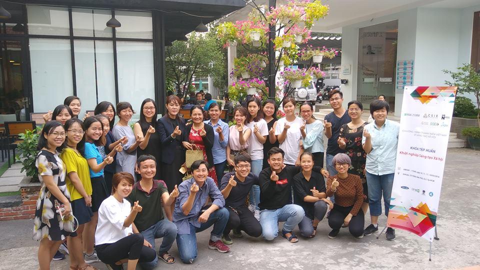Social enterprise training class
